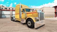 Retro peau pour le camion Peterbilt 389