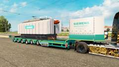 Low sweep, mit der Last Transformator Siemens