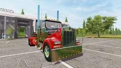 Kenworth W900 reworked pour Farming Simulator 2017
