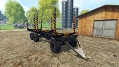 Holz Anhänger für Farming Simulator 2015