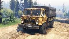 GAZ 66 v2.0 pour Spin Tires