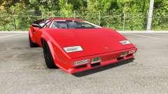 Lamborghini Countach v2.0 für BeamNG Drive