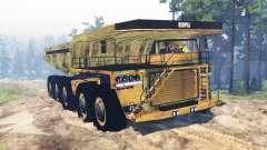 Bergbau-LKW 10x10
