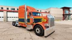 Vintage de la peau pour le camion Peterbilt 389