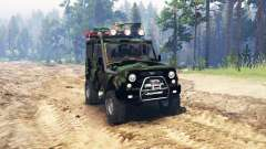 UAZ 315195 hunter-turbodiesel expedition v4.0