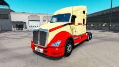 La peau sur TLM tracteur Kenworth T680