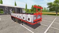 Semi-trailer-Plattform für Farming Simulator 2017