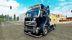 Abstrakte Wirkung Haut für Volvo-LKW
