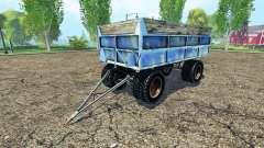 Traktor Anhänger Muldenkipper