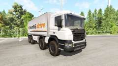 Scania 8x8 heavy utility truck v2.0 für BeamNG Drive
