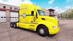 Haut-Los Pollos Hermanos-LKW auf einem Peterbilt 579 für American Truck Simulator