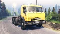 KamAZ 54115 v3.0 pour Spin Tires