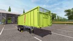 Semi-trailer tipper Fliegl