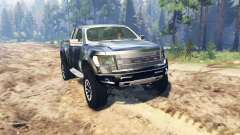 Ford F-150 SVT Raptor Super Cab pour Spin Tires