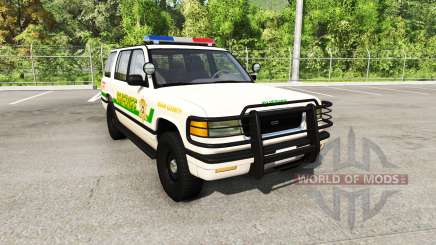 Gavril Roamer county sheriff pour BeamNG Drive