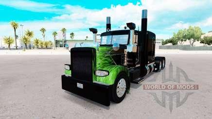 La Flamme de la peau pour le camion Peterbilt 389 pour American Truck Simulator