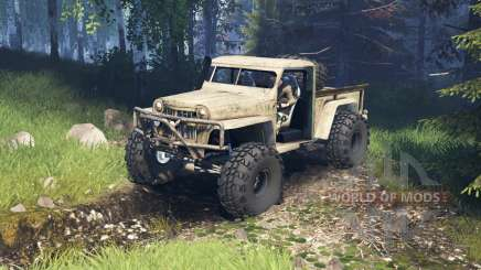 Willys Pickup Crawler 1960 v2.1.4 für Spin Tires