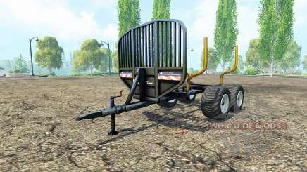 Timber trailer-v0.9.1 für Farming Simulator 2015