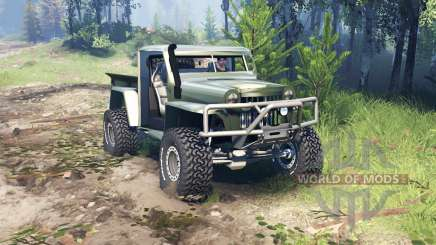 Willys Pickup Crawler 1960 v1.8.5 für Spin Tires
