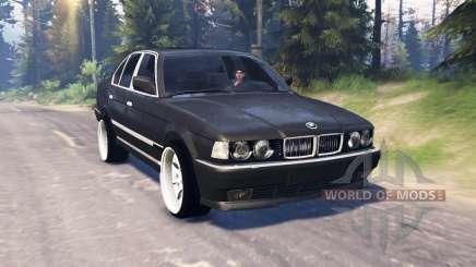 BMW 750Li (E38) v5.0 für Spin Tires