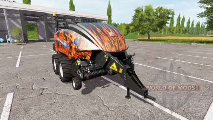 New Holland BigBaler 1290 flame für Farming Simulator 2017