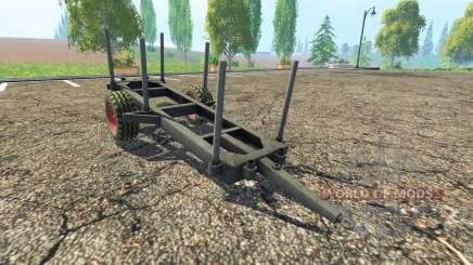 Bois de la remorque pour Farming Simulator 2015