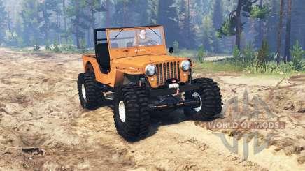 Jeep Willys M38 CJ2A crawler für Spin Tires