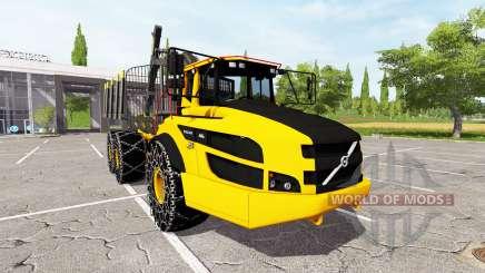 Volvo A40G forwarder v2.0 pour Farming Simulator 2017