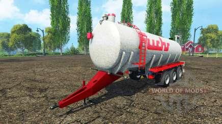 Fuchs three-axle für Farming Simulator 2015