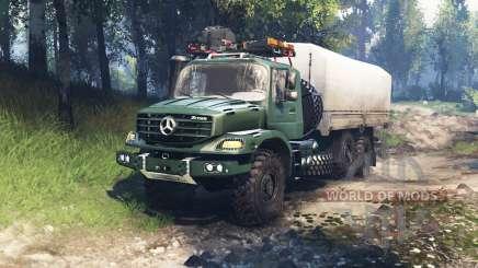 Mercedes-Benz Zetros 2733 A v3.0 pour Spin Tires