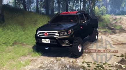 Toyota Hilux Double Cab 2016 v3.0 für Spin Tires