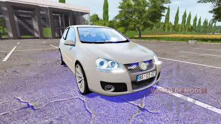 Volkswagen Golf GTI (Typ 1K) Unmarked Police pour Farming Simulator 2017