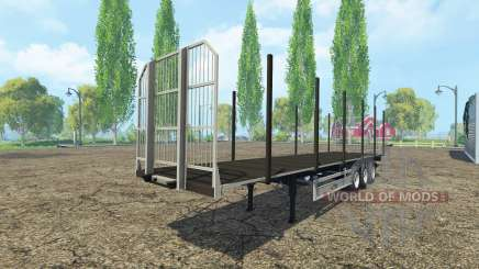 Multifonction semi-remorque Fliegl v2.0 pour Farming Simulator 2015