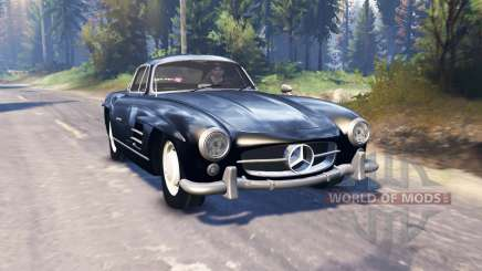 Mercedes-Benz 300 SL (W198) v2.0 pour Spin Tires