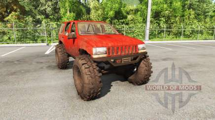 Jeep Grand Cherokee 1994 trail v1.1 für BeamNG Drive