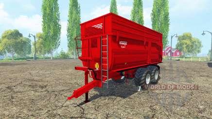 Krampe BBS 650 v1.2 pour Farming Simulator 2015