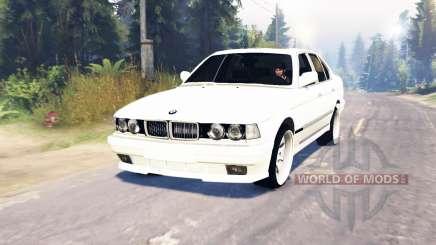 BMW 750Li (E38) v6.0 für Spin Tires
