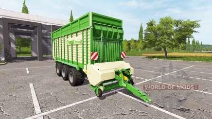 Krone ZX 550 GD v1.1 pour Farming Simulator 2017