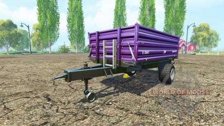 BRANTNER E 8041 compost pour Farming Simulator 2015
