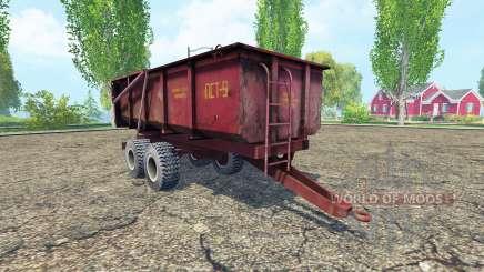 PST-9 v2.0 pour Farming Simulator 2015