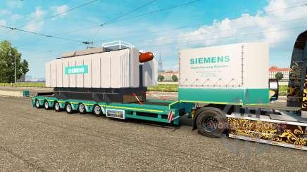 Bas de balayage à la charge du transformateur de Siemens pour Euro Truck Simulator 2