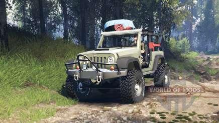 Jeep Wrangler Renegade (JK) v3.0 für Spin Tires