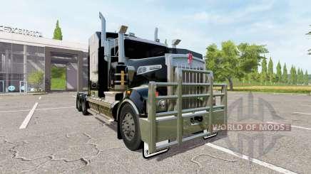 Kenworth T908 black für Farming Simulator 2017