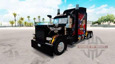 Légende américaine de la peau pour le camion Peterbilt 389 pour American Truck Simulator