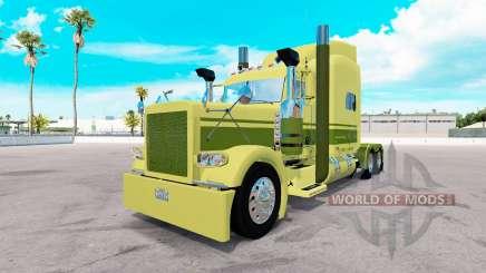Peau de grosse voiture de Camionnage sur le camion Peterbilt 389 pour American Truck Simulator
