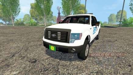 Ford F-150 NYPD für Farming Simulator 2015
