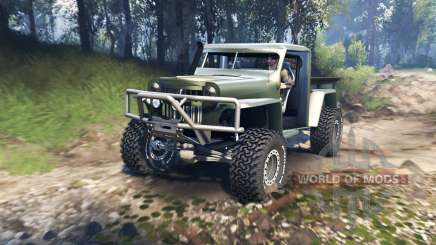 Willys Pickup Crawler 1960 v1.7.5 für Spin Tires