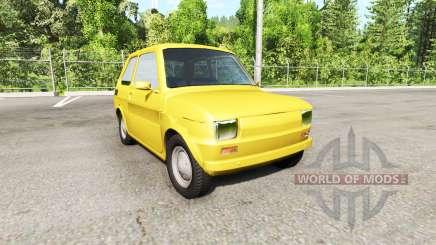 Fiat 126p für BeamNG Drive