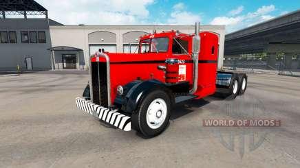 La peau de la Côte Ouest sur le tracteur Kenworth 521 pour American Truck Simulator