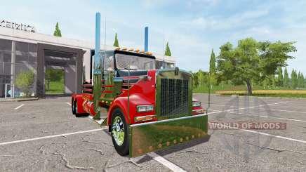 Kenworth W900 reworked für Farming Simulator 2017